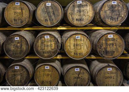 Glen Garioch Distillery, - 06 February 2016: Glen Garioch Distillery, One Of The Oldest Whisky Disti