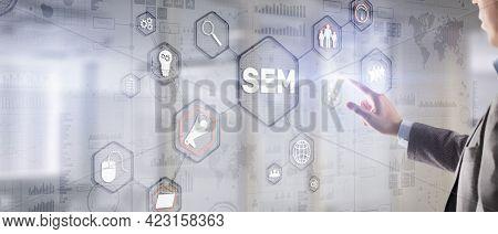 Sem Search Engine Marketing. Digital Marketing, Online Advertising