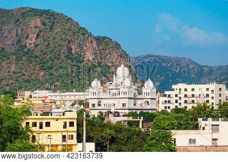 A Sikh Gurdwara Or Gurudwara In Pushkar Town In Rajasthan State Of India