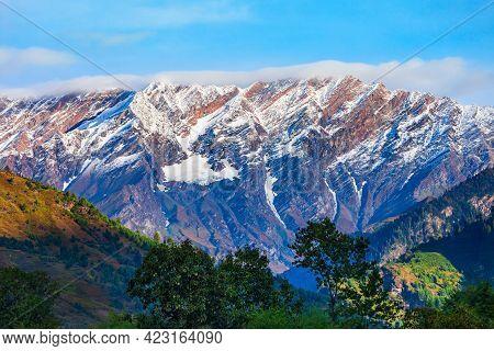 Rohtang Pass Is A High Mountain Pass On The Pir Panjal Range Of Himalayas Near Manali, Himachal Prad