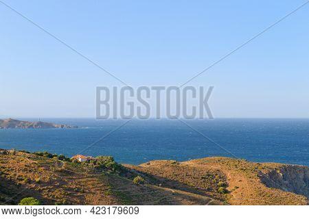 Coast in South France near Spanish border