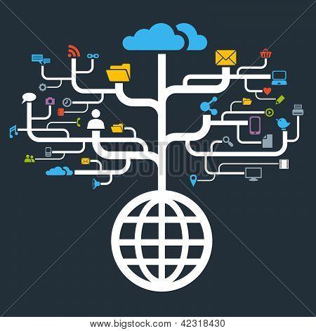 Network Globe Worldwide