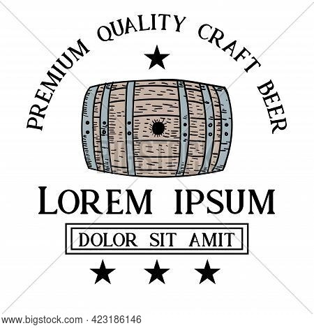 Brewery Beer Design Logo Vector. Brewery Beer Design Logo Restaurant
