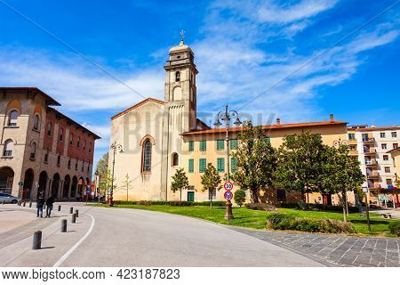 St Anthony Abbey Is A Catholic Church Near The Piazza Vittorio Emanuele Square In The Centre Of Pisa