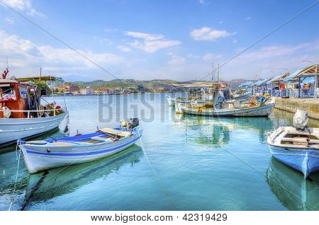 Beautiful Gythio, Greece