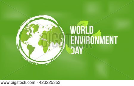 World Environment Day Vector Illustration. Environment Day Template For Background, Banner, Poster,