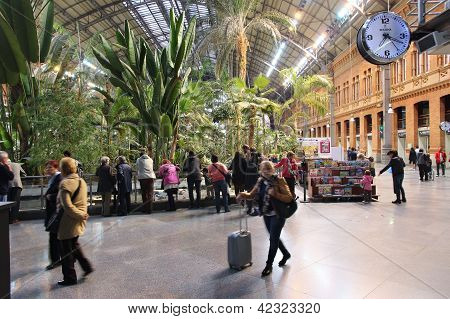 Madrid Railway Station