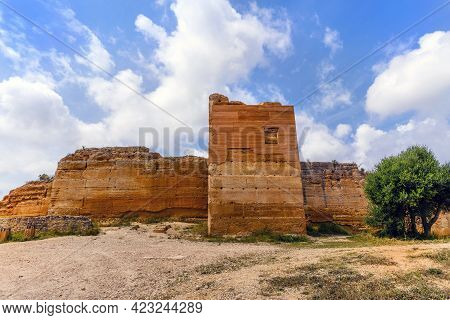 The Castle Of Paderne - An Ancient Fortification In Albufeira, Algarve, Portugal
