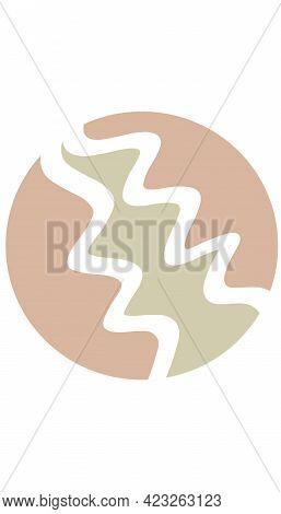 Boho Highlight Cover, Bohemian Social Media Highlight, Pastel Colors Abstract Art