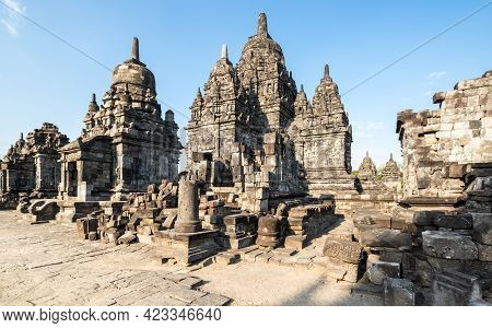 Prambanan Or Rara Jonggrang Is A 9th-century Hindu Temple Compound In Special Region Of Yogyakarta,