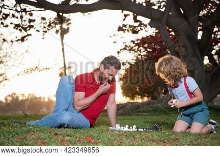 Parenthood And Childhood. Checkmate. Time Together. Strategic And Tactic. Tutorship.