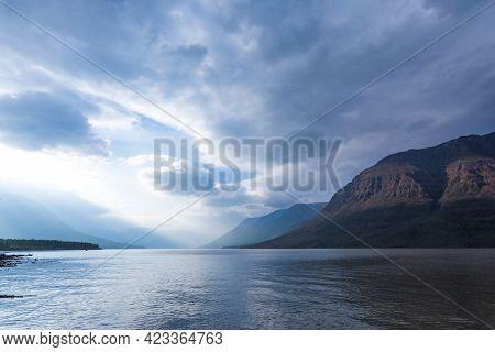 Lama Lake On Putorana Plateau, Russia, Krasnoyarsk Region