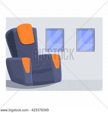 First Class Travel Icon. Cartoon Of First Class Travel Vector Icon For Web Design Isolated On White
