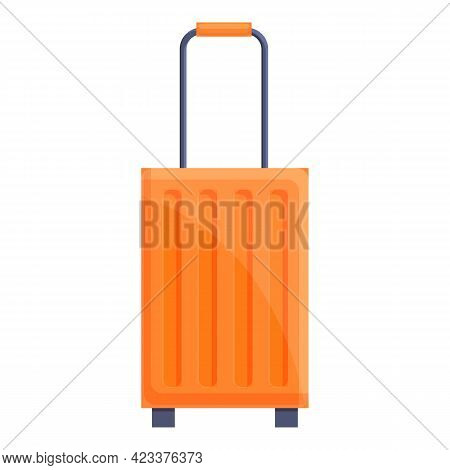 First Class Travel Bag Icon. Cartoon Of First Class Travel Bag Vector Icon For Web Design Isolated O
