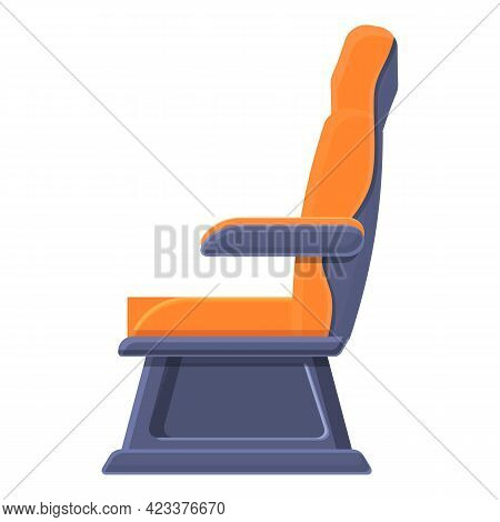 First Class Soft Armchair Icon. Cartoon Of First Class Soft Armchair Vector Icon For Web Design Isol