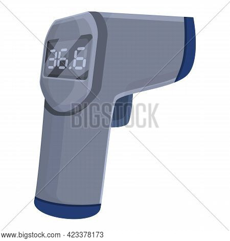 Modern Laser Thermometer Icon. Cartoon Of Modern Laser Thermometer Vector Icon For Web Design Isolat