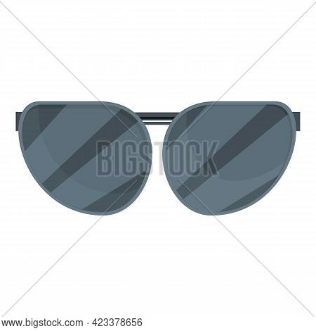 Hiking Goggles Icon. Cartoon Of Hiking Goggles Vector Icon For Web Design Isolated On White Backgrou