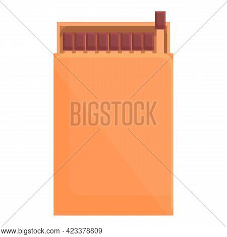 Expedition Matches Icon. Cartoon Of Expedition Matches Vector Icon For Web Design Isolated On White