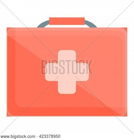 Expedition First Aid Kit Icon. Cartoon Of Expedition First Aid Kit Vector Icon For Web Design Isolat