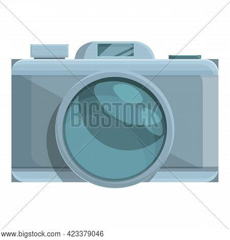 Camera For Expedition Icon. Cartoon Of Camera For Expedition Vector Icon For Web Design Isolated On