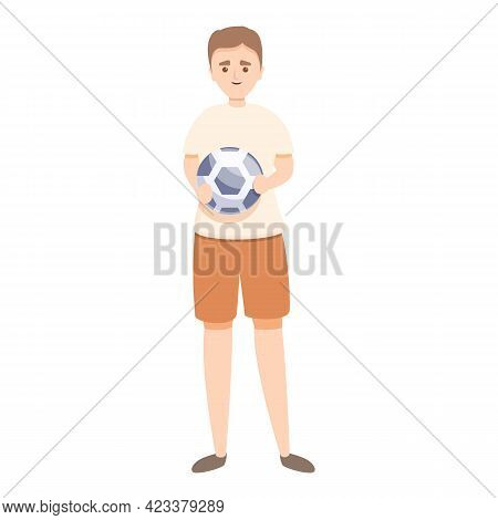 Ball Boy Icon. Cartoon Of Ball Boy Vector Icon For Web Design Isolated On White Background
