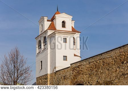 Jesuit Observatory, Part Of The City Fortifications With Battlements, Lusthaus Observation Pavilion,