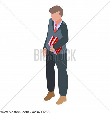 Manager Consumer Rights Icon. Isometric Of Manager Consumer Rights Vector Icon For Web Design Isolat