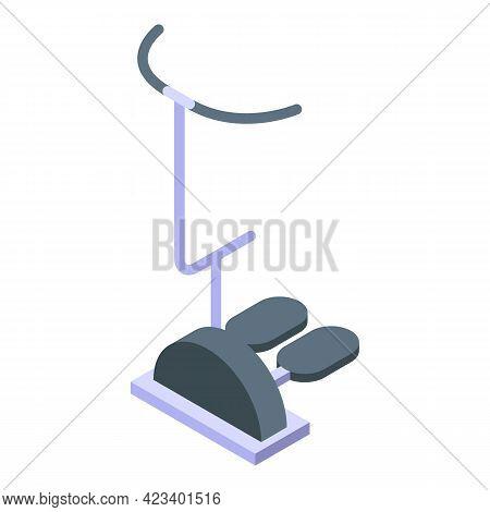 Fitness Home Equipment Icon. Isometric Of Fitness Home Equipment Vector Icon For Web Design Isolated