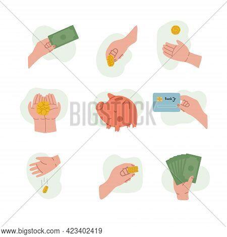 Handling Money For Children. Getting Pocket Money, Saving Money, Wasting And Losing Money. Childrens