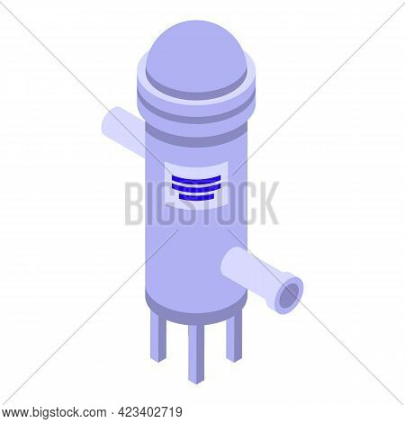 Water Purification Icon. Isometric Of Water Purification Vector Icon For Web Design Isolated On Whit