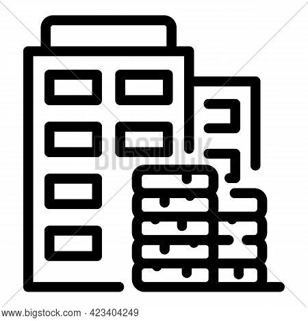 Business Trust Relationship Icon. Outline Business Trust Relationship Vector Icon For Web Design Iso