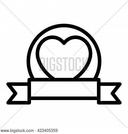 Event Planner Bride Icon. Outline Event Planner Bride Vector Icon For Web Design Isolated On White B