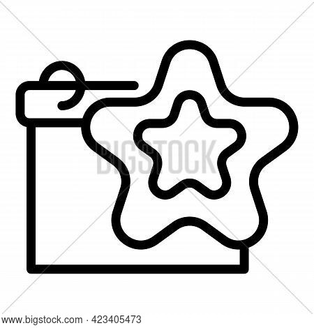 Event Planner Sign Icon. Outline Event Planner Sign Vector Icon For Web Design Isolated On White Bac