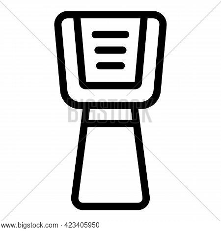 Laser Thermometer Electronic Icon. Outline Laser Thermometer Electronic Vector Icon For Web Design I