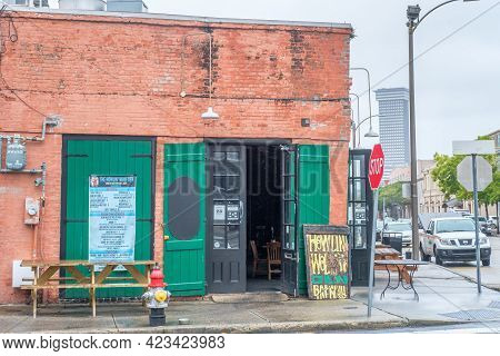 New Orleans, La - September 22: The Howlin' Wolf Den In The Warehouse District On September 22, 2020