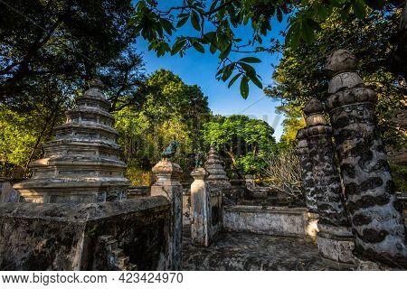 Tu Hieu Pagoda In Hue Vietnam