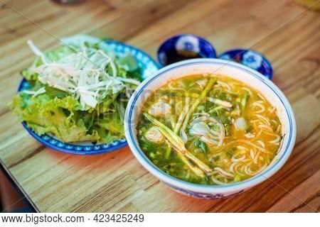 Bun Bo Hue Soup In Hue