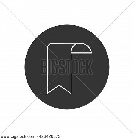 Bookmark Outline And Filled Vector Line Icon Sign Symbol