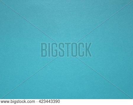 Bright Vivid Blue Background. Beautiful Blue Or Aqua