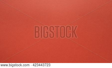 Red Simple Christmas Background. Bright Vivid Kind Of Red.