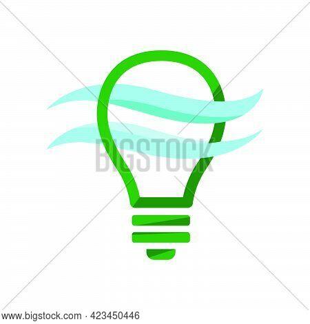 Illustration Vector Graphic Of Bulb Lamp Conceptual Design