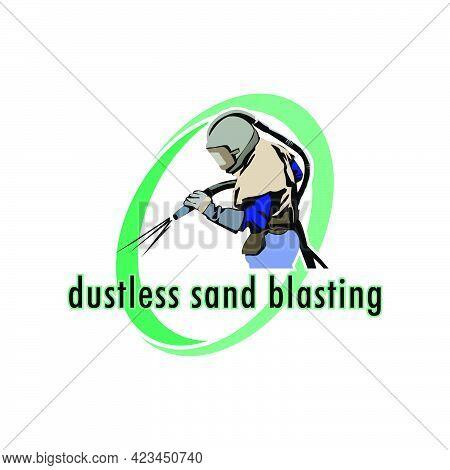 Illustration Vector Graphic Of Sand Blasting Design