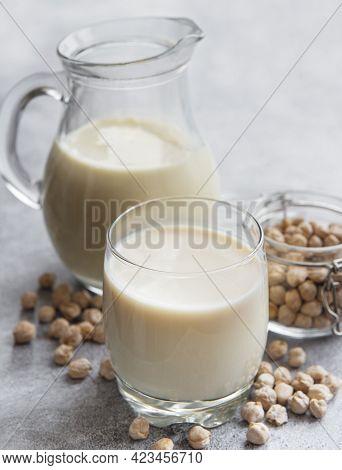Chick Peas Milk With Chick Peas