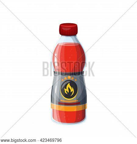 Ignition Fluid Bottle For Firewood Or Coals