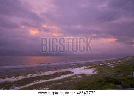 Hilton Head Beach Storm