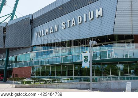 New Orleans, La - June 10: Yulman Stadium On The Tulane University Campus On June 10, 2021 In New Or