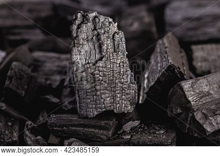 Pieces Of Charcoal, Charcoal Mine, Spot Focus