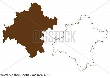 Schmalkalden-meiningen District (federal Republic Of Germany, Rural District, Free State Of Thuringi