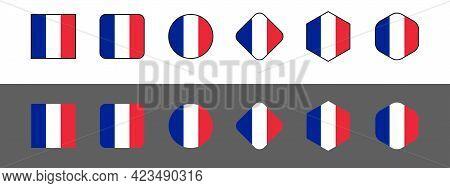 National flag of France, France flag in standard proportion color mode RGB. France flag. France flag icon, France flag, France flag image, France vector image, France flag png, France flag jpg, flag of national of France. vector ilustration