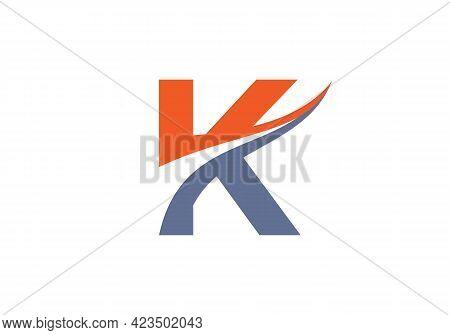 Modern K Logotype For Luxury Branding. Initial K Letter Business Logo Design Vector
